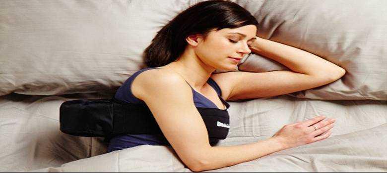 Terapia posicional para la apnea del sueño