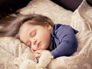 evolución del sueño en los niños